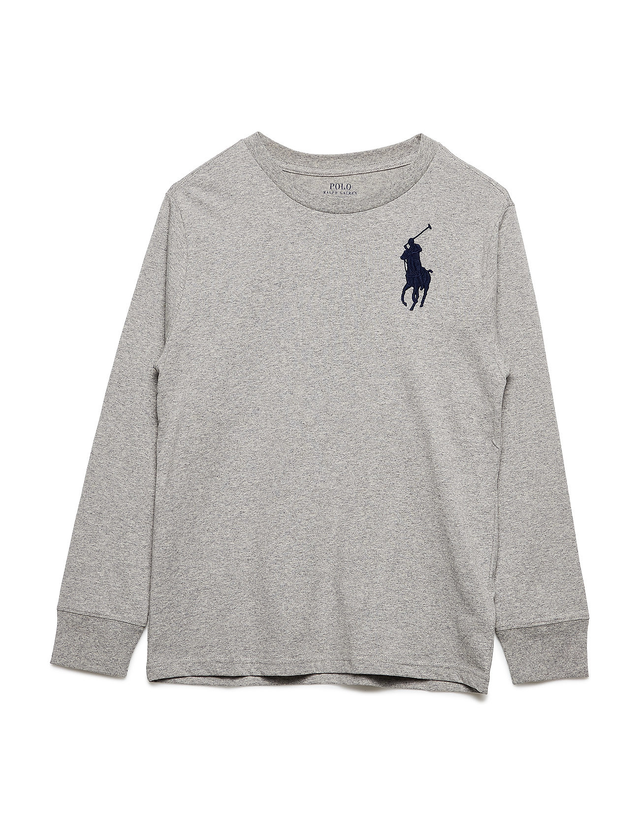 Ralph Lauren Kids Cotton Jersey Crewneck T-Shirt