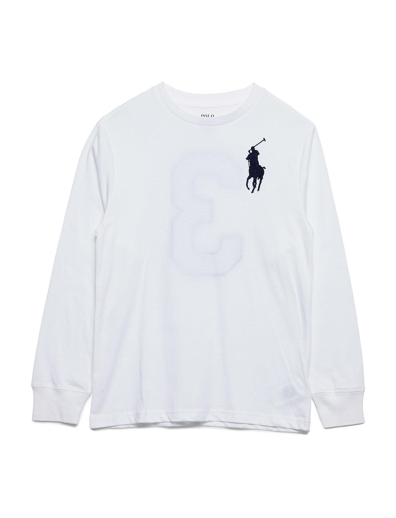 Ralph Lauren Kids Cotton Jersey Crewneck T-Shirt