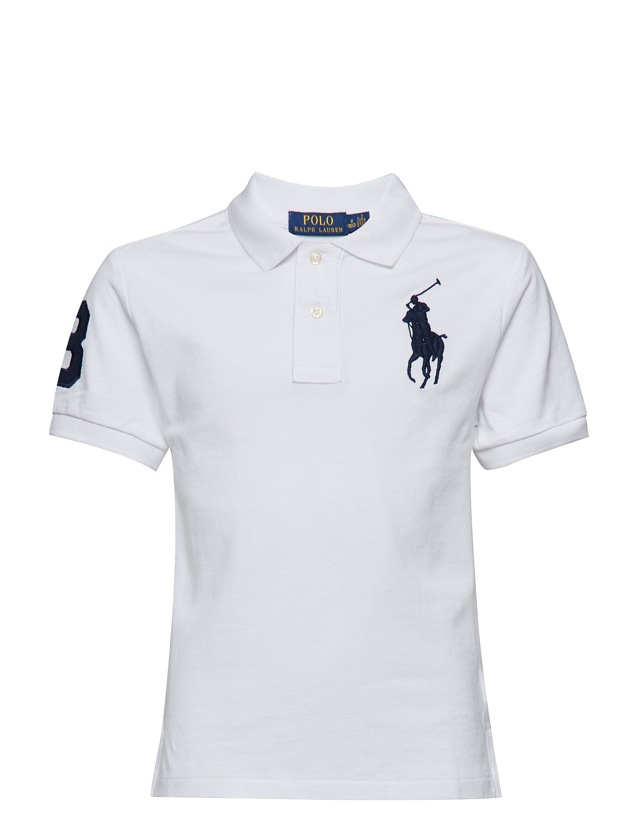 Ralph Lauren Kids BASIC MESH-SLIM POLO-TP-KNT
