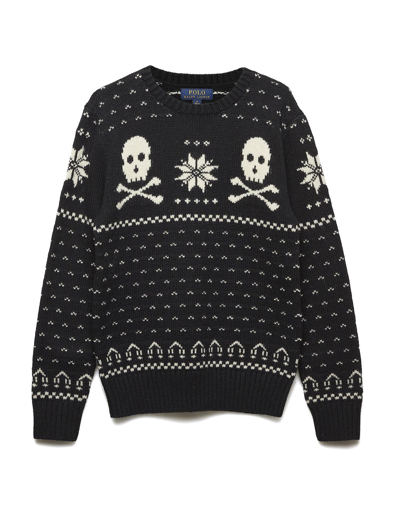 Sweater Sweater Cotton Merino Merino Cotton Ski Bear Ski Bear 3R54AjLqc