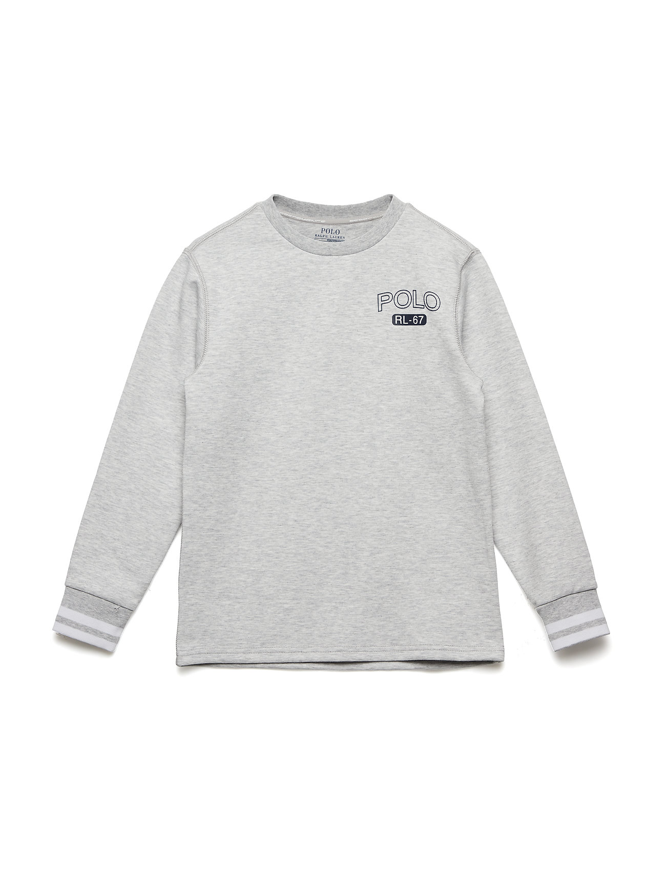 Ralph Lauren Kids DOUBLE KNIT TECH-LS CN-TP-KNT