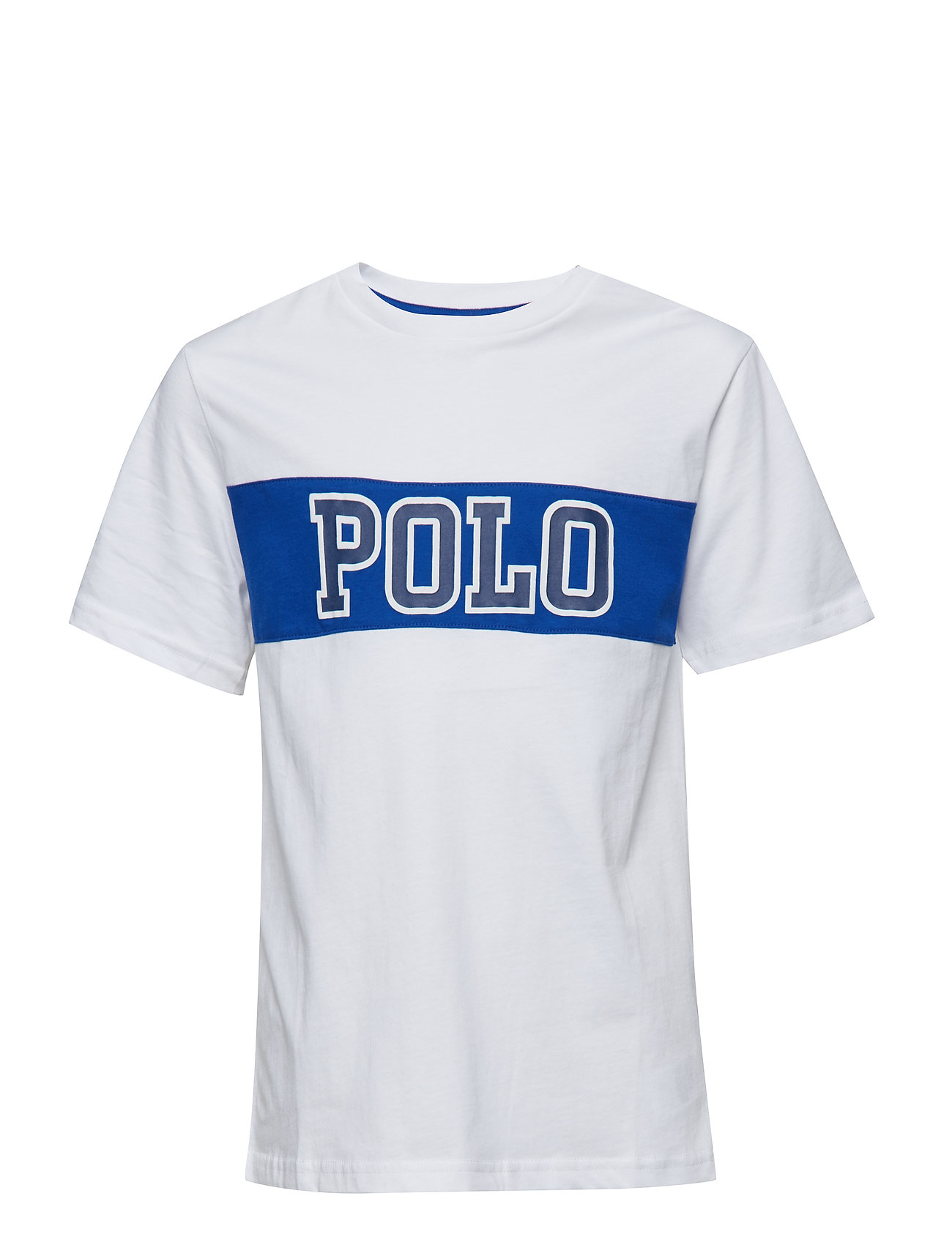Ralph Lauren Kids 30/1 JERSEY-PIECED TEE-TP-TSH