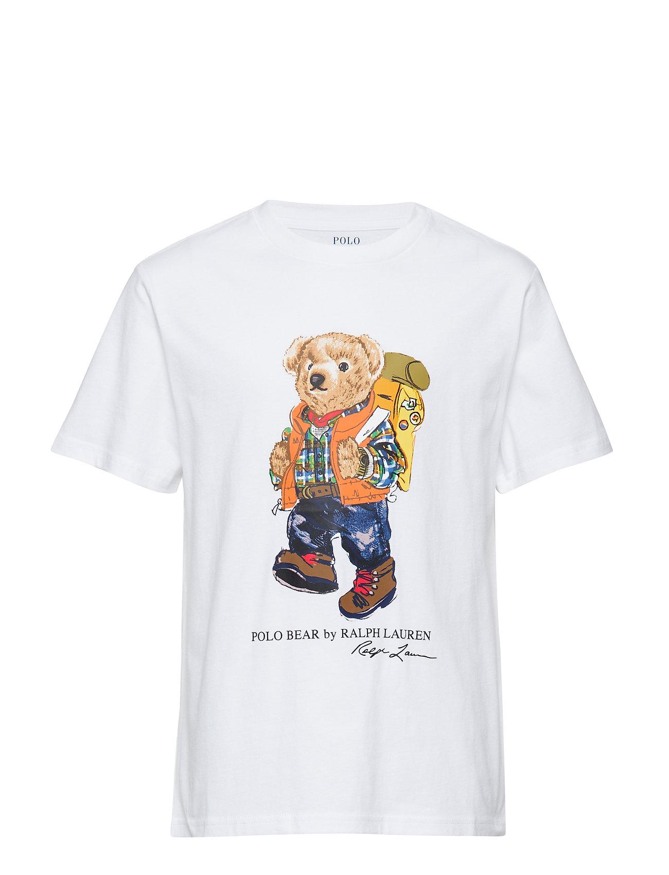 Ralph Lauren Kids 30/1 JERSEY-BEAR TEE-TP-TSH