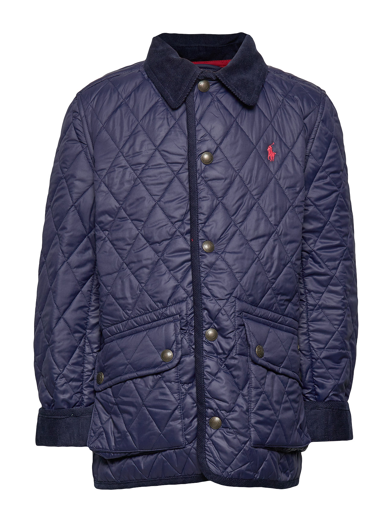 Ralph Lauren Kids Water-Resistant Quilted Jacket - FRENCH NAVY