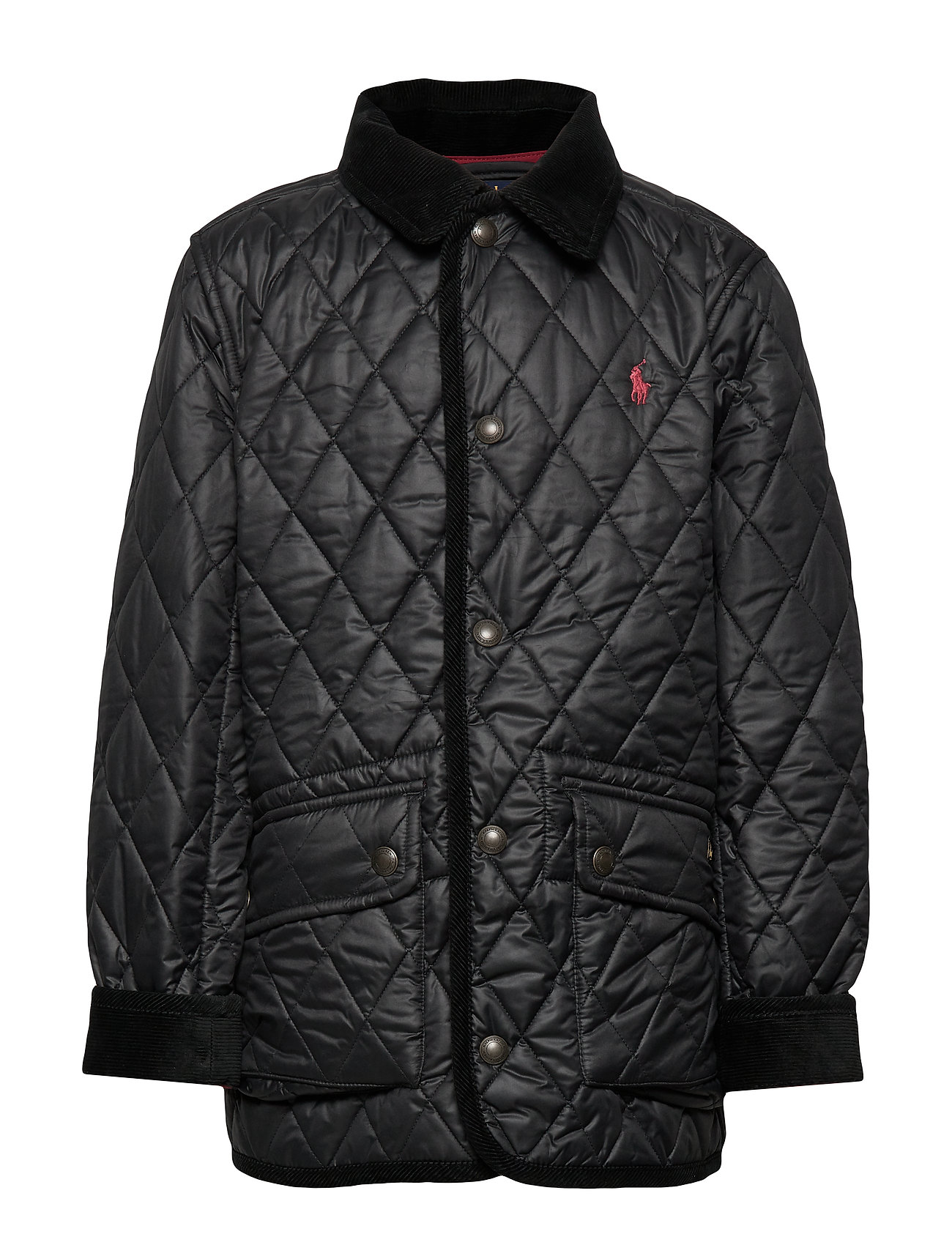 Ralph Lauren Kids Water-Resistant Quilted Jacket - POLO BLACK