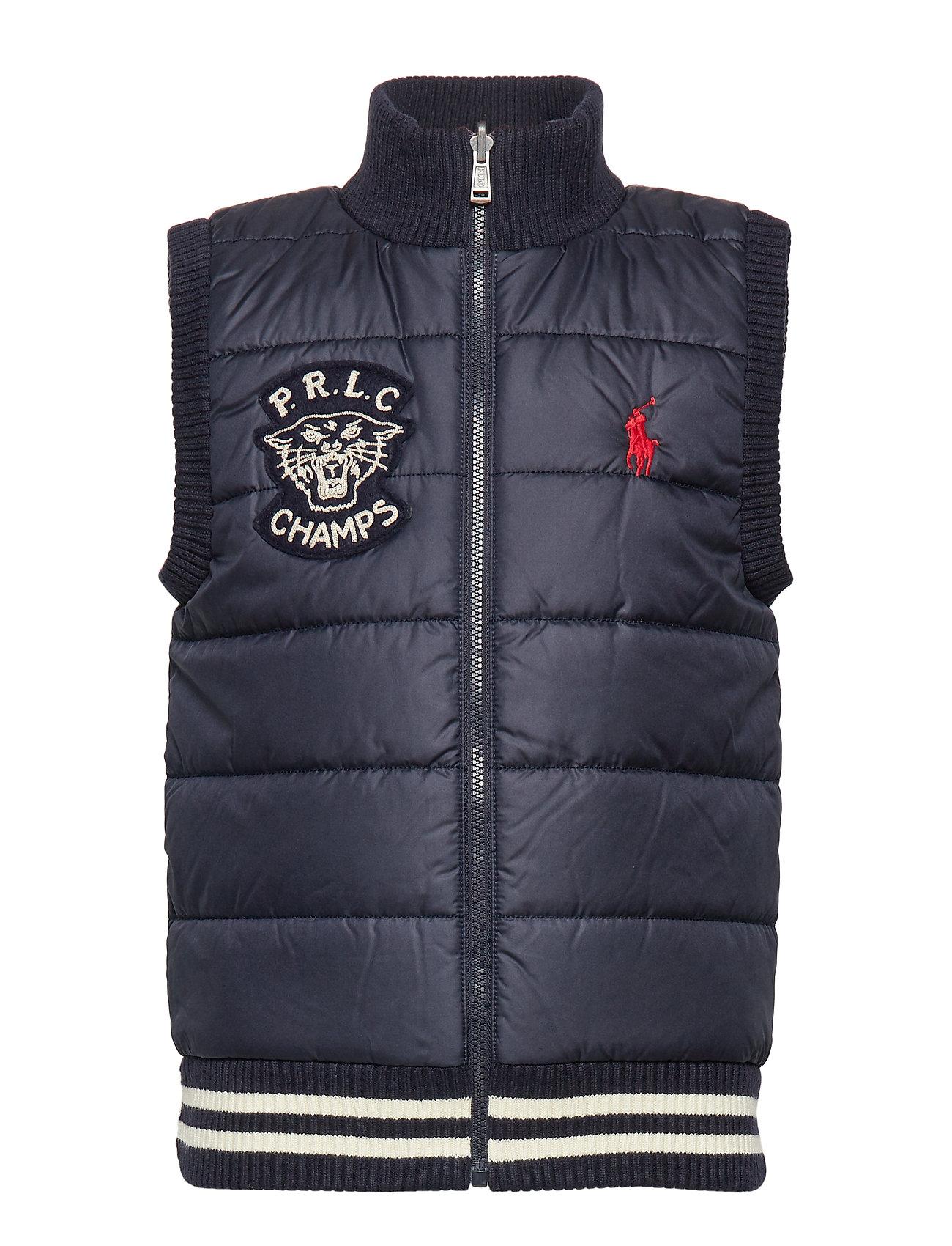 Ralph Lauren Kids Reversible Sweater Vest - RL NAVY MULTI