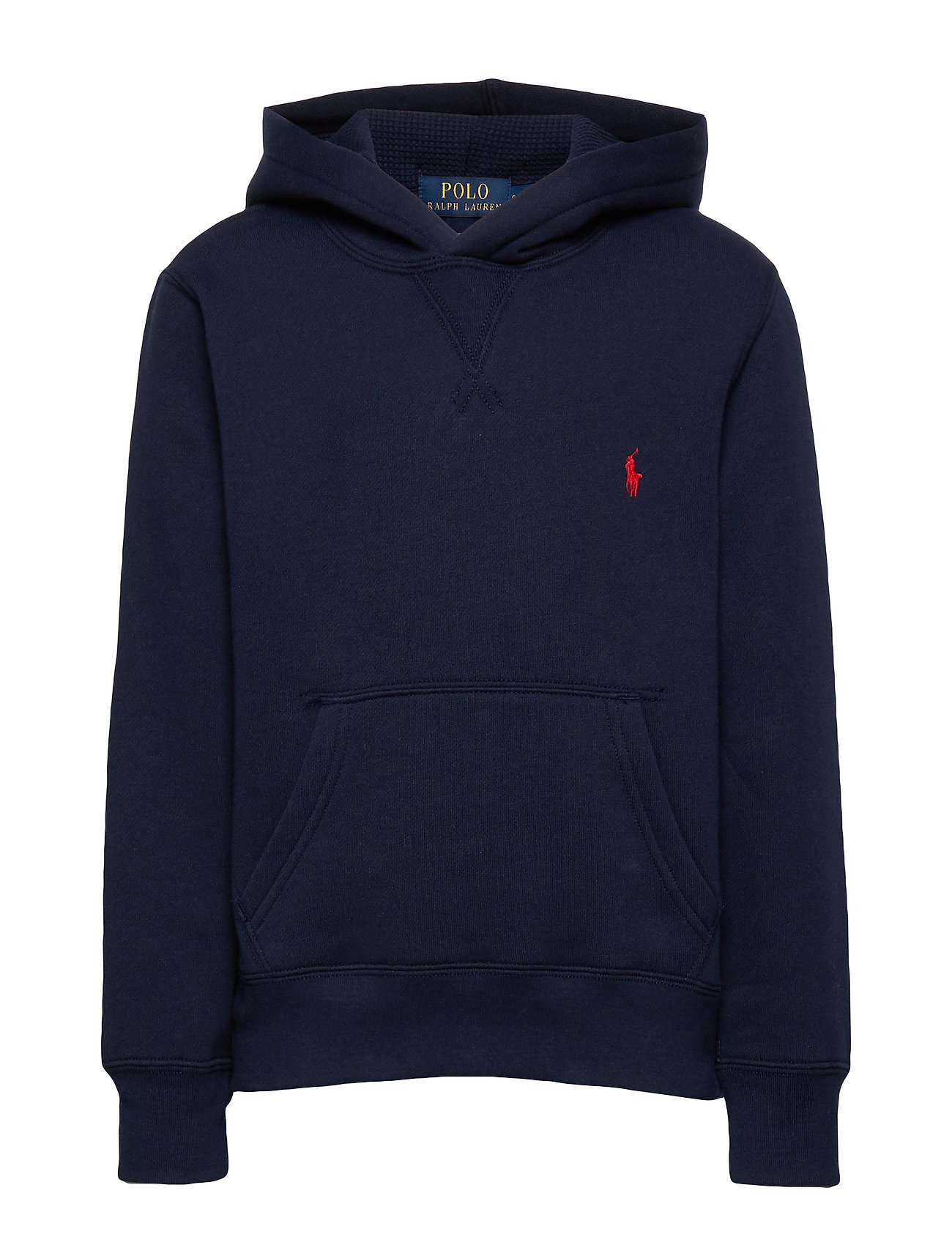 Ralph Lauren Kids Cotton-Blend-Fleece Hoodie - CRUISE NAVY