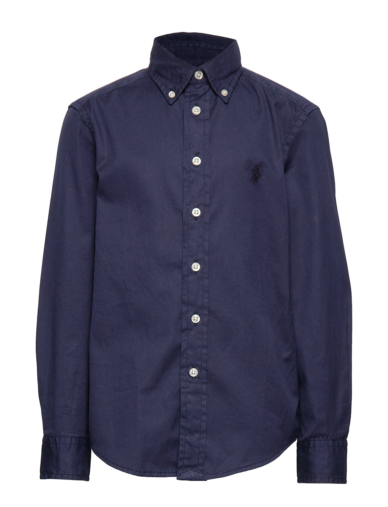 Ralph Lauren Kids LS BD-TOPS-SHIRT - FRENCH NAVY