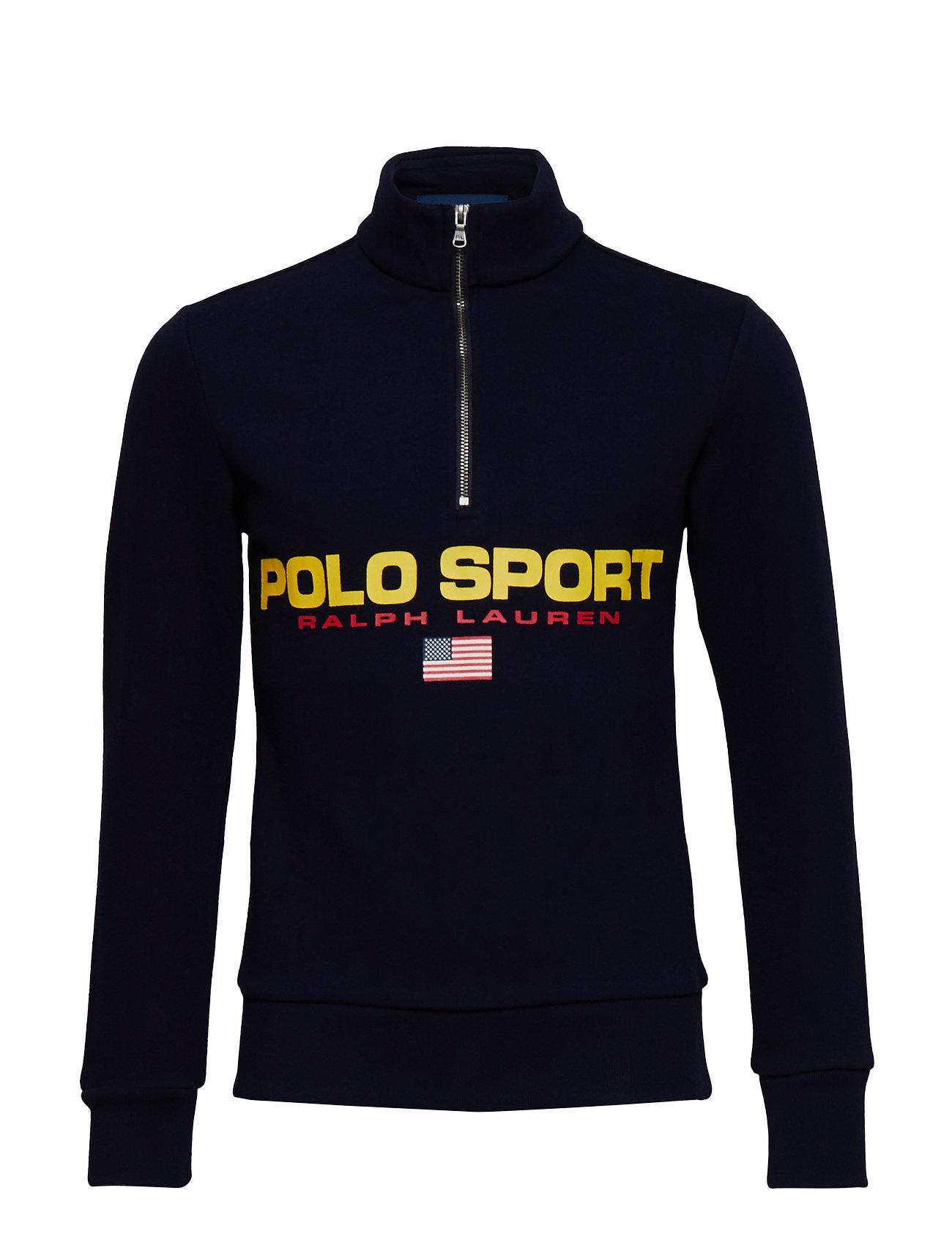 Ralph Lauren Kids Polo Sport Fleece Sweatshirt - CRUISE NAVY