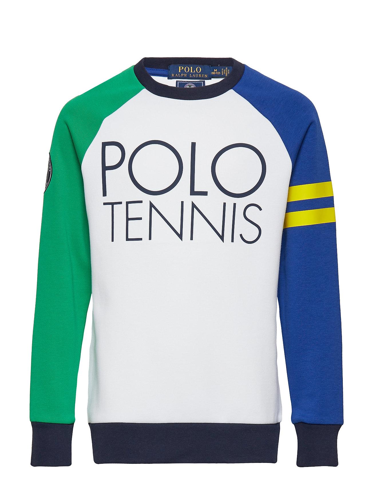 Ralph Lauren Kids Wimbledon Sweatshirt - PURE WHITE MULTI