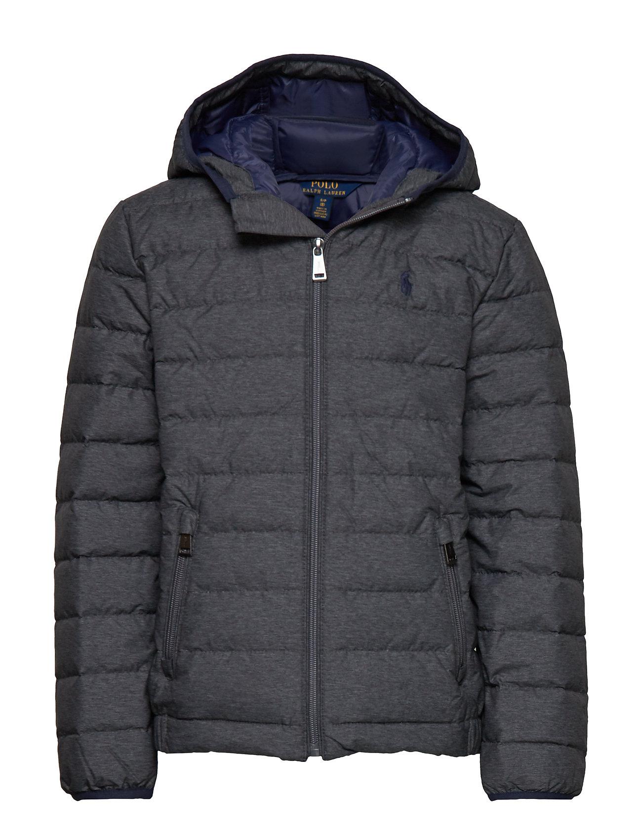Ralph Lauren Kids Packable Quilted Down Jacket - MECHANIC GREY