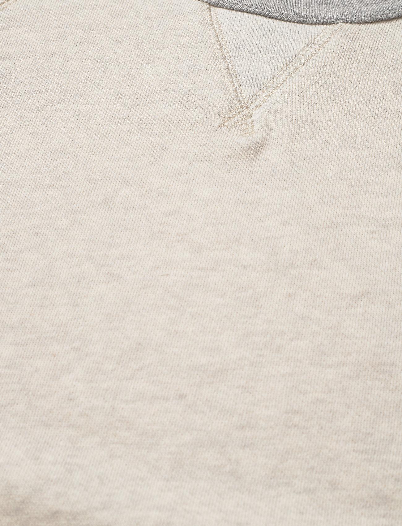 Ralph Lauren Kids - Twill Terry Sweatshirt - sweatshirts - new sand heather - 1