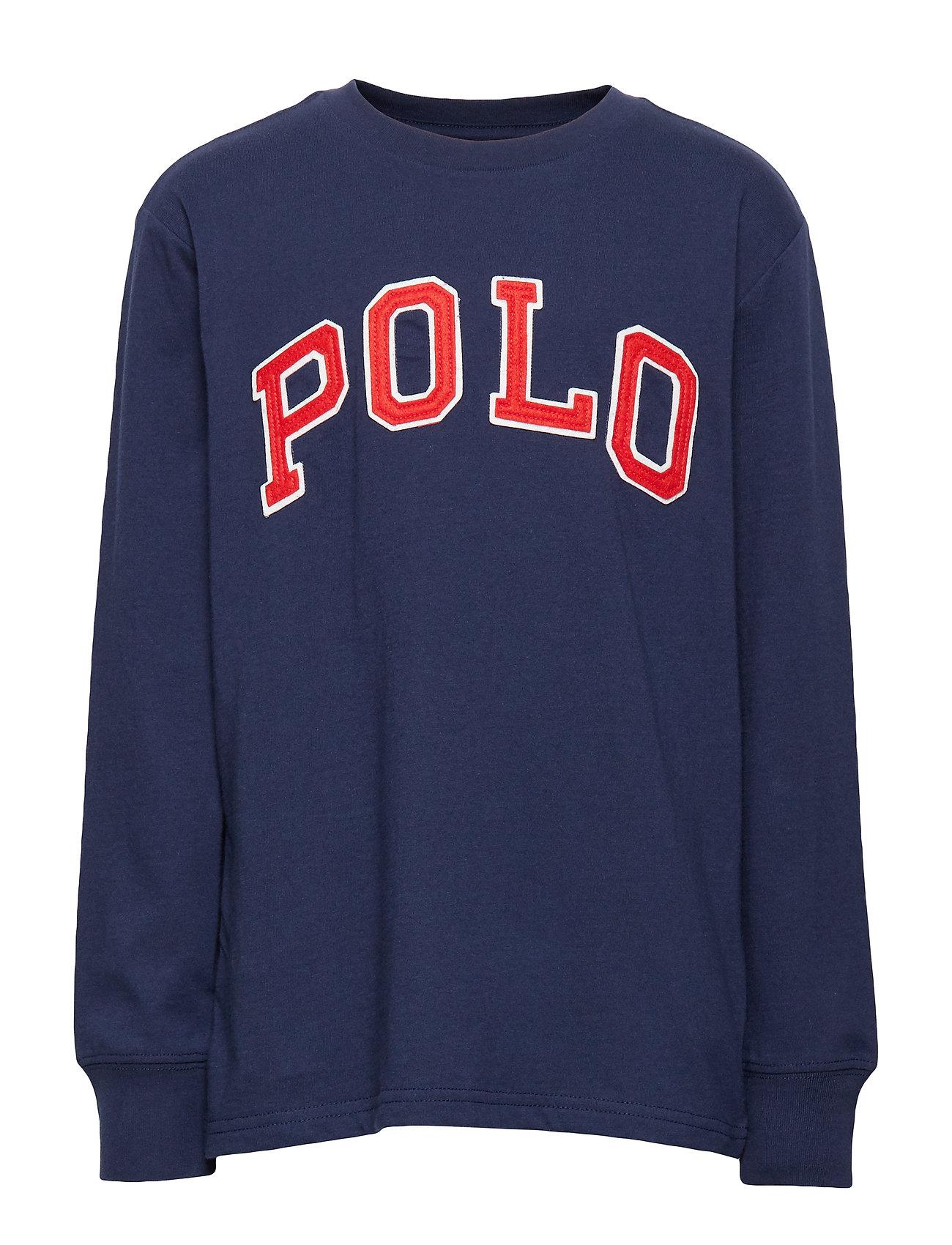Ralph Lauren Kids Polo Cotton Jersey Tee - FRENCH NAVY