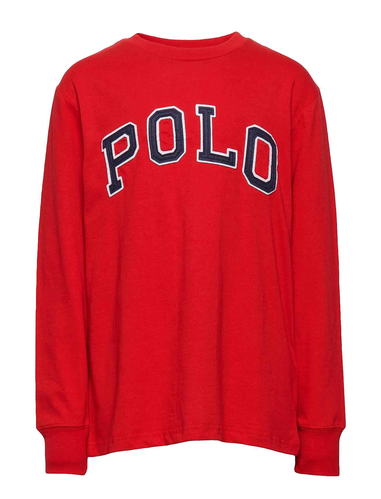 Ralph Lauren Kids Polo Cotton Jersey Tee - RL 2000 RED