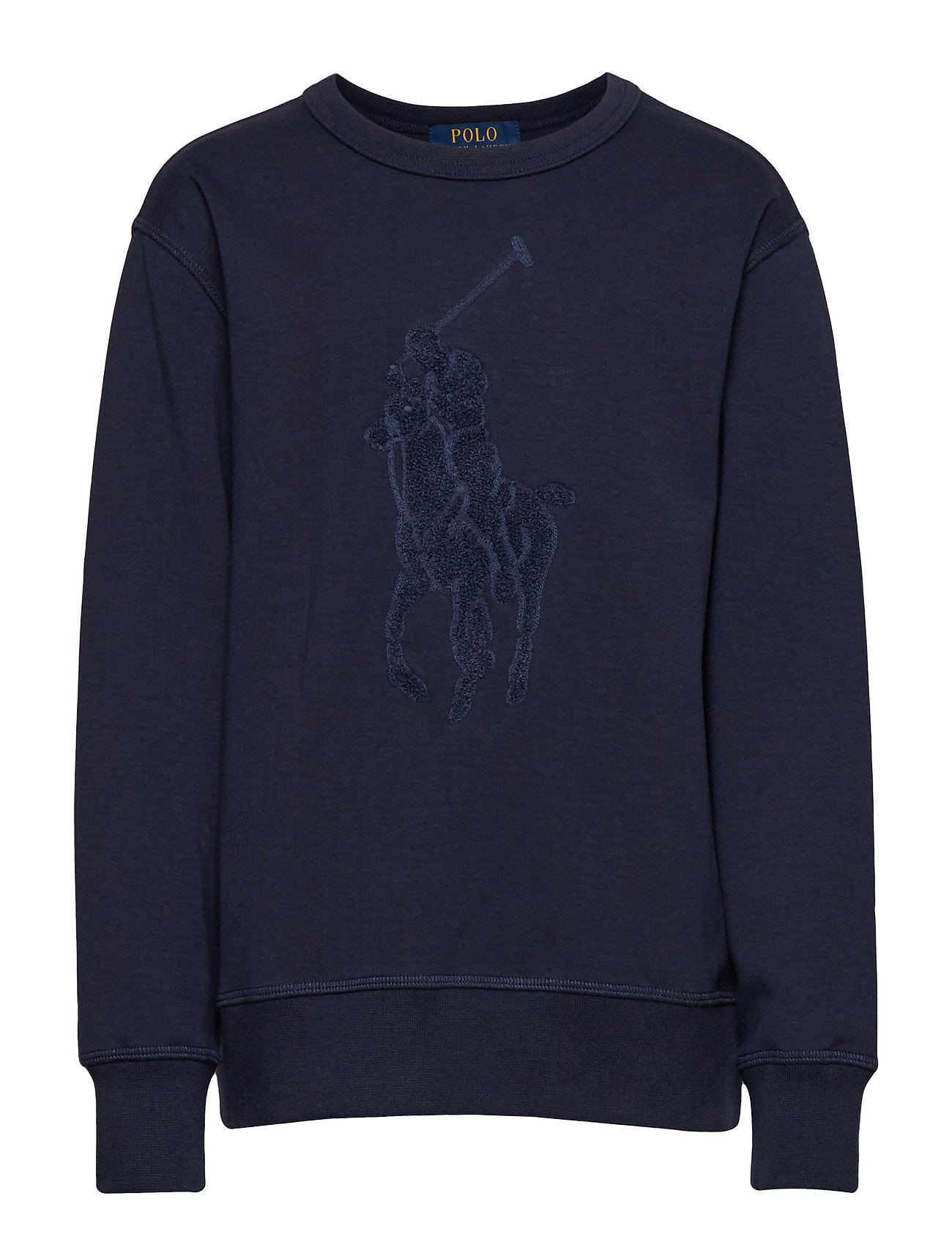 Ralph Lauren Kids Cotton-Blend Sweatshirt - FRENCH NAVY