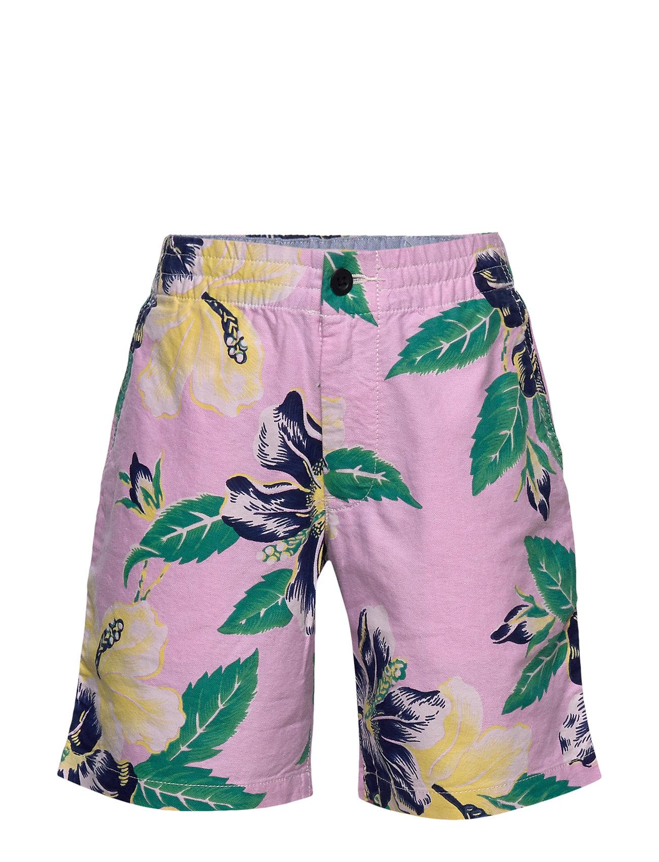 Ralph Lauren Kids Polo Prepster Oxford Short - VINTAGE HIBISCUS