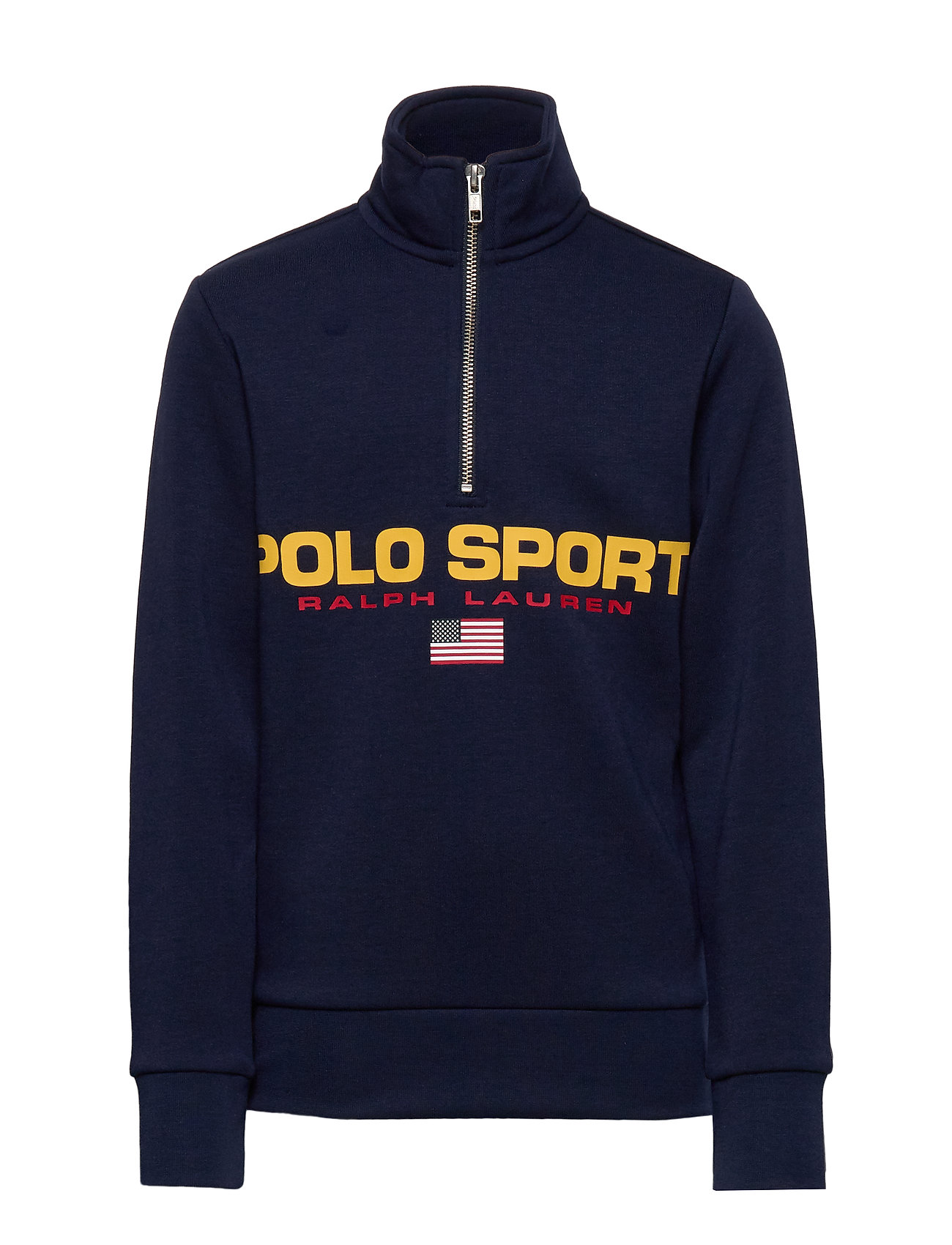 Ralph Lauren Kids Polo Sport Half-Zip Sweatshirt - CRUISE NAVY