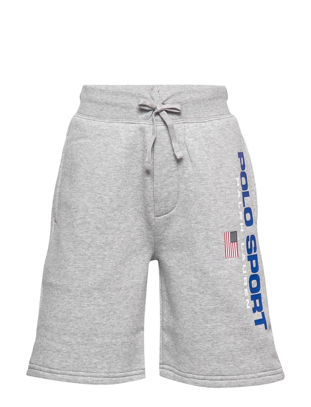 Ralph Lauren Kids Polo Sport Fleece Short - ANDOVER HEATHER