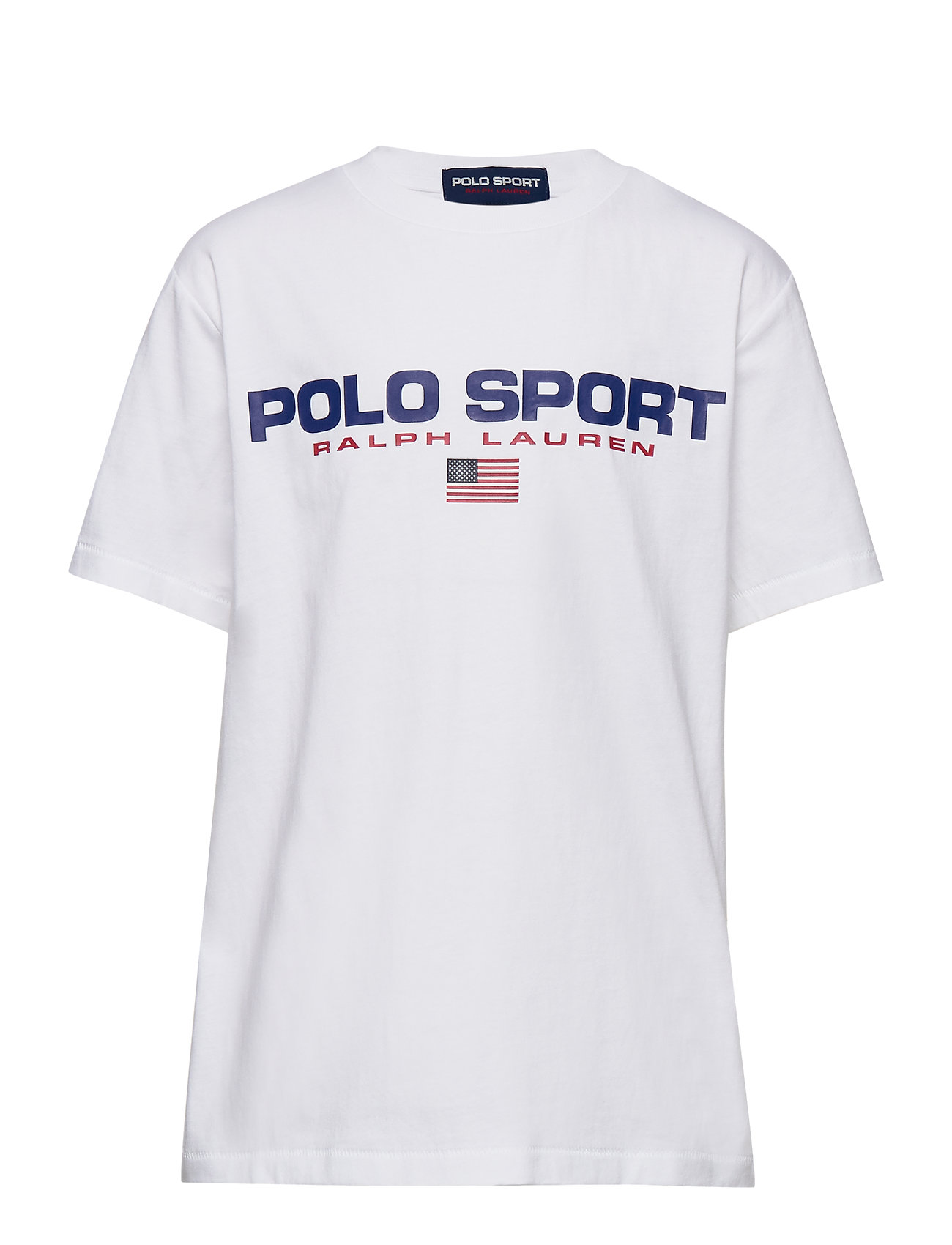 Ralph Lauren Kids Polo Sport Cotton Jersey Tee - WHITE