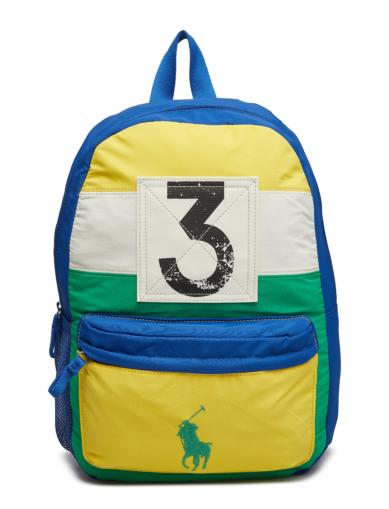 Ralph Lauren Kids SAIL PTCHWRK NYLON-BACKPACK-BPK-LRG