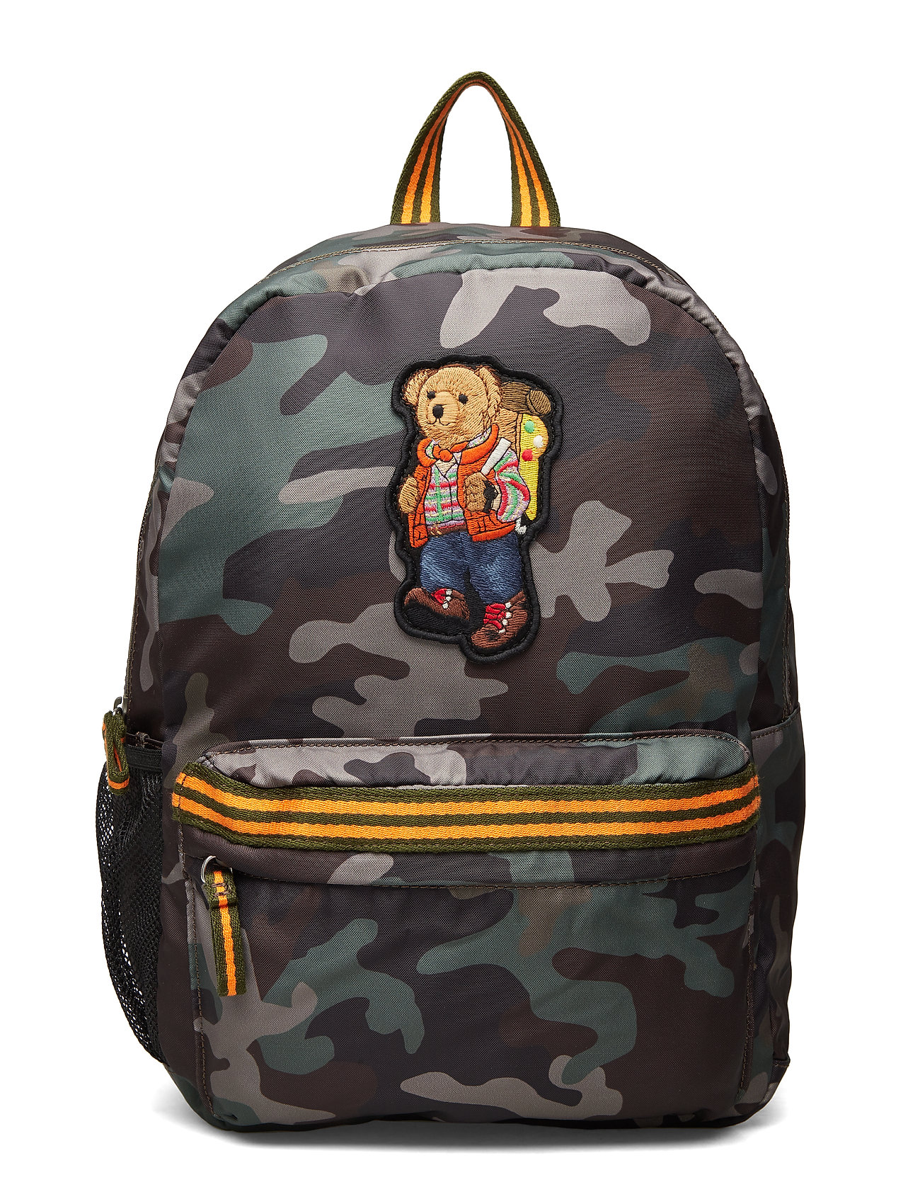 Ralph Lauren Kids Large Polo Bear Camo Backpack - CAMO