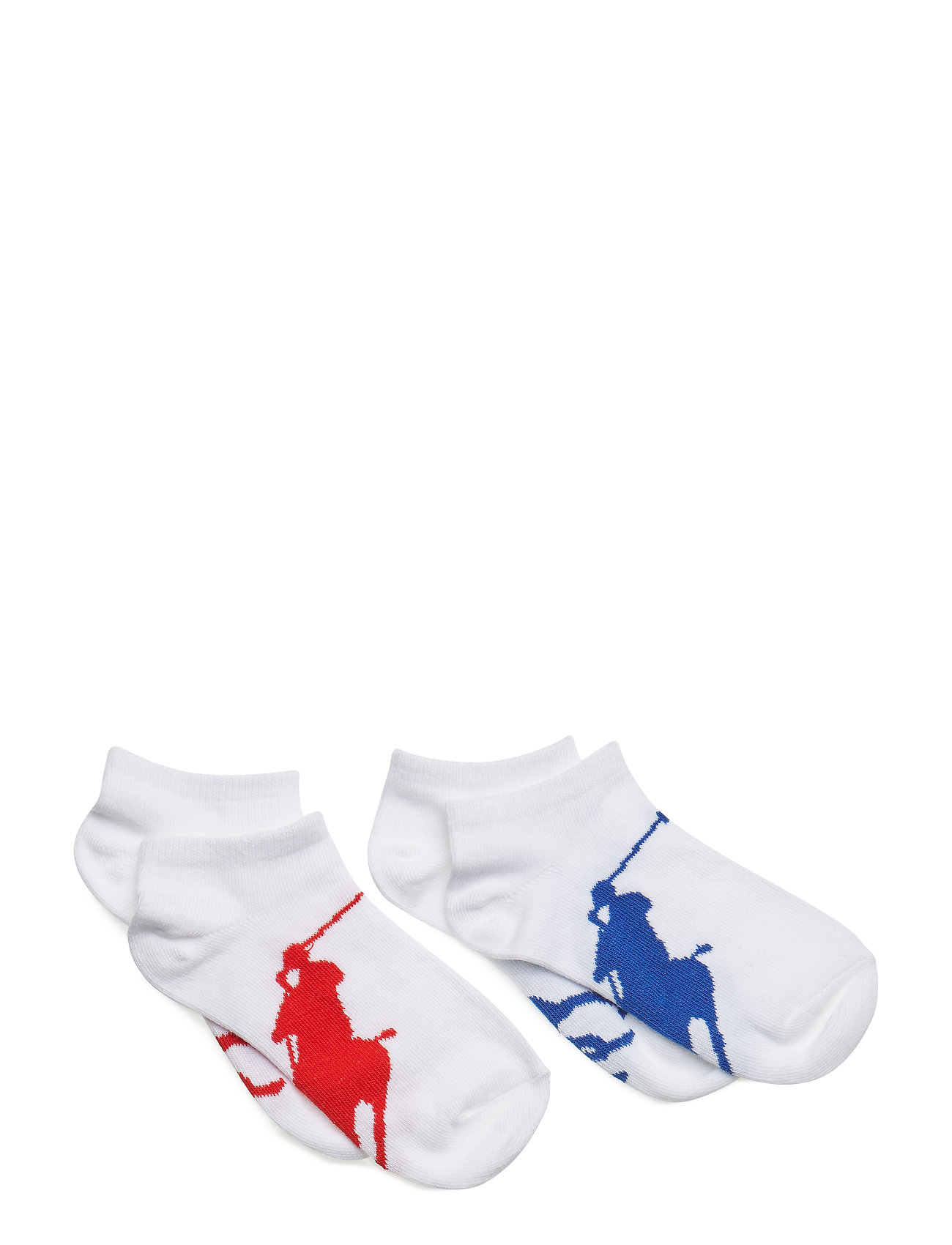 Ralph Lauren Kids COTTON BLEND-BIG PP SCK 2 PK