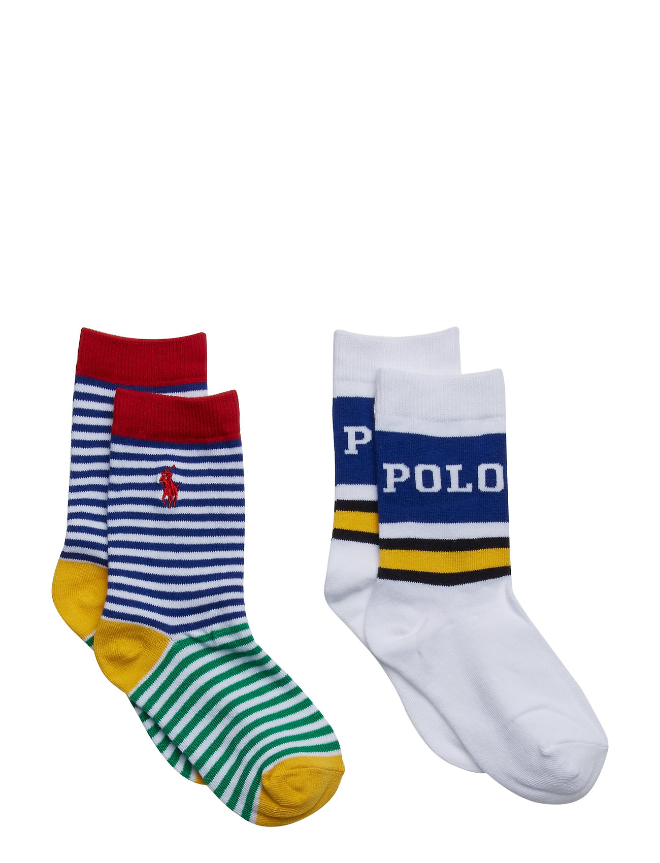 Ralph Lauren Kids COTTON BLEND-NEWPORT POLO 2PK CRW