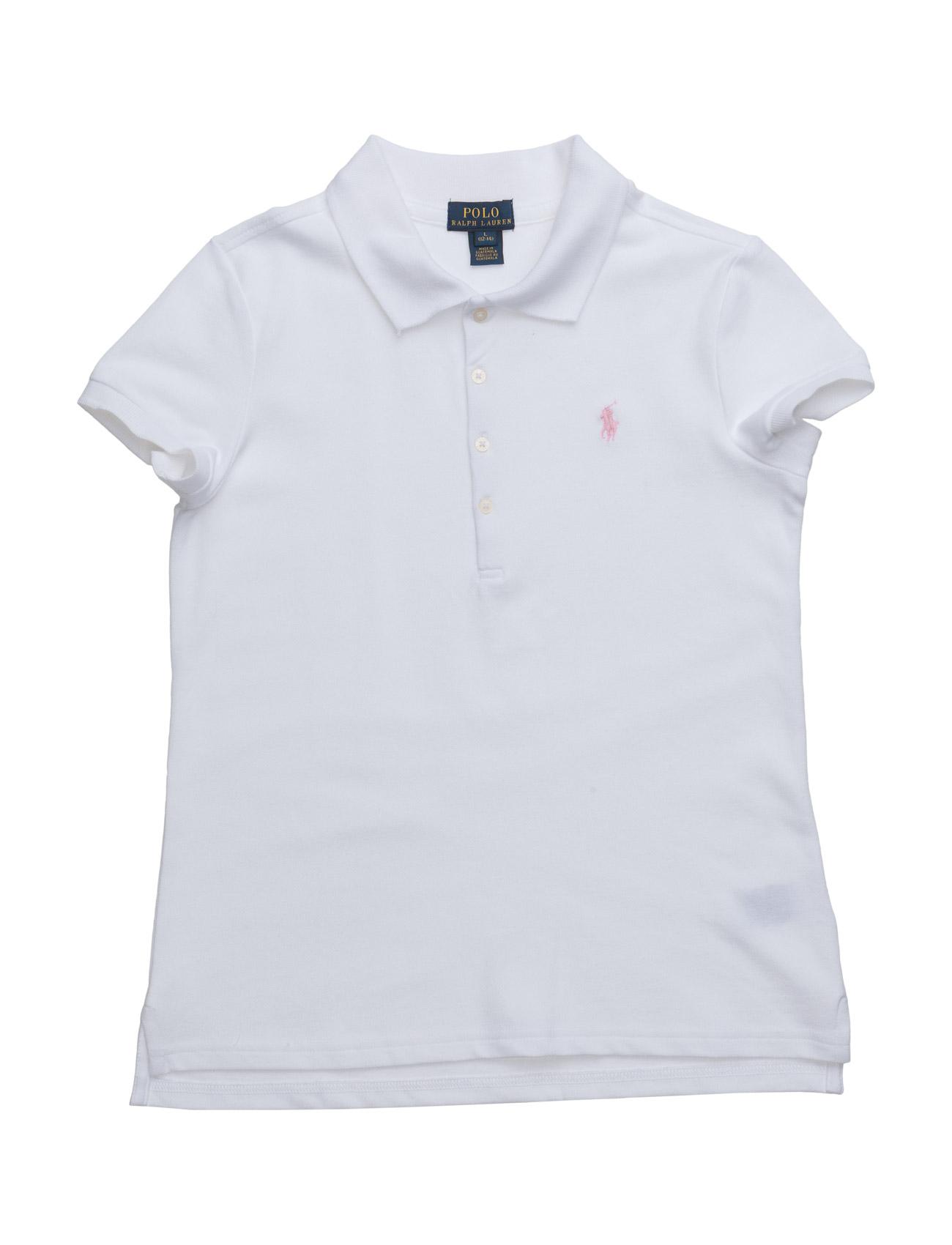 60faff77e91a3 Short Sleeve Mesh Polo (White) (59 €) - Ralph Lauren Kids -