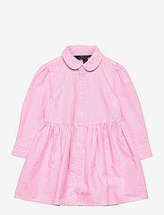 Pony Cotton Shirtdress - PINK