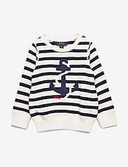 Ralph Lauren Kids - Anchor Terry Sweatshirt - sweatshirts - clubhouse cream/h - 0