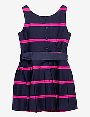 Ralph Lauren Kids - Striped Cotton Sateen Dress - dresses - french navy multi - 1