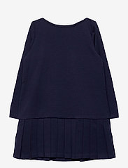 Ralph Lauren Kids - LT WT PONTE-LS PLTED DRS-DR-KNT - dresses - french navy - 2