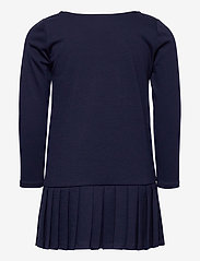 Ralph Lauren Kids - LT WT PONTE-LS PLTED DRS-DR-KNT - dresses - french navy - 3