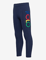 Ralph Lauren Kids - Logo Stretch Jersey Legging - leggings - french navy - 2
