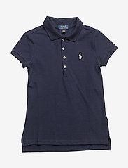 Ralph Lauren Kids - Cotton Polo Shirt - pikeepaidat - french navy - 0