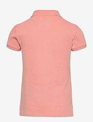 Ralph Lauren Kids - Stretch-Cotton-Mesh Polo Shirt - polo shirts - deco coral - 1