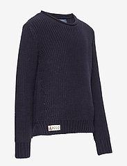 Ralph Lauren Kids - Rollneck Cotton Sweater - dzianinowe - rl navy - 3