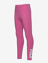 Ralph Lauren Kids - Polo Stretch Jersey Legging - leggings - baja pink - 1