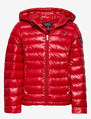 Ralph Lauren Kids - Packable Quilted Down Jacket - puffer & padded - rl 2000 red - 0