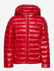 Ralph Lauren Kids - Packable Quilted Down Jacket - puffer & padded - rl 2000 red - 1