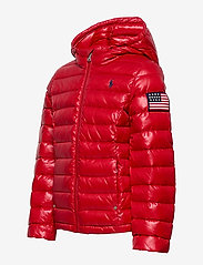 Ralph Lauren Kids - Packable Quilted Down Jacket - puffer & padded - rl 2000 red - 2