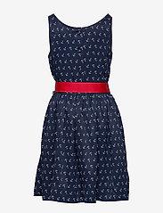 Ralph Lauren Kids - Anchor-Print Twill Dress - dresses - anchor print - 4