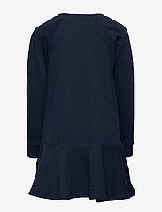 Ralph Lauren Kids - Raincoat Bear Terry Dress - dresses - hunter navy - 1