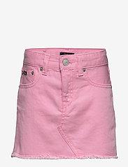 Ralph Lauren Kids - Cotton Denim Skirt - skirts - carmel pink wash - 0