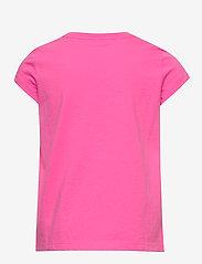 Ralph Lauren Kids - Cotton Jersey Graphic Tee - short-sleeved - baja pink - 1