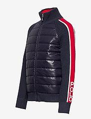 Ralph Lauren Kids - Cotton-Blend Hybrid Jacket - dunjakker & forede jakker - rl navy - 2