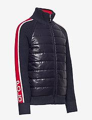 Ralph Lauren Kids - Cotton-Blend Hybrid Jacket - dunjakker & forede jakker - rl navy - 3