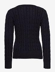 Ralph Lauren Kids - Logo Cable-Knit Cotton Sweater - knitwear - rl navy - 1