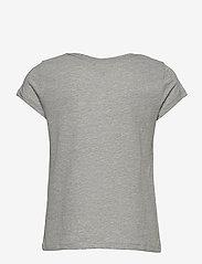 Ralph Lauren Kids - Logo Cotton Jersey Tee - short-sleeved - spring heather - 1
