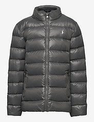 Ralph Lauren Kids - Water-Repellent Down Jacket - puffer & padded - magnum grey - 1